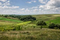 Rural Landscape (Valery Goloha) Tags: travel лето landscape summer sky nature ukraine grass field