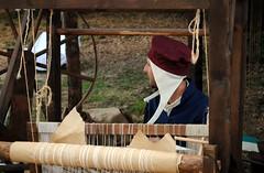 Al telaio (Volterra) - At loom (stella.iloveyou) Tags: volterra volterraad1398 historicalreenactment rievocazionimedievali rievocazionistoriche