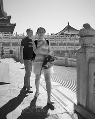 2018 Beijing - Gu Gong 42 (C & R Driver-Burgess) Tags: gugong forbiddencity beijing ancient palace buildings decorated painted elaborate chinese crowds tourists gold 故宫
