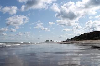 Cromer from East Runton Beach 070918