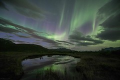 The Aurora #2 (B_Olsen) Tags: nordlys northernlights auroraborealis polarlicht arctic nature landscape longexposure nightphoto troms norway nightscape sky