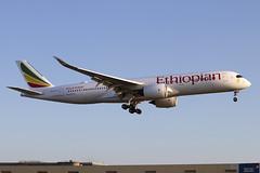ET-AUC (JBoulin94) Tags: etauc ethiopian airlines airbus a350900 london heathrow international airport lhr egll england uk john boulin