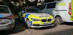 Surrey Police...BMW 530d  GX66 CUY (standhisround) Tags: police car vehicle bmw emergency battenberg surrey london carltonhouseterrace england uk surreypolice bmw530d gx66cuy 999