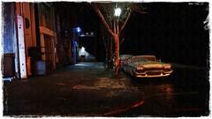 Night Corner Painting (gpholtz) Tags: diorama miniatures 118 diecast 1958 plymouth fury