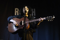 Pale Waves (pugwash00) Tags: uk london roughtrade bricklane eastend music concert gig instrument guitar singer woman heatherbarongracie palewaves mymindmakesnoises sony rx100m5 acoustic solo lowlight