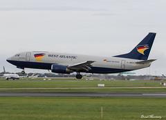 West Atlantic UK 737-300(F) G-JMCO (birrlad) Tags: dublin dub international airport ireland aircraft aviation airplane airplanes airline airliner airlines airways boeing b737 b733 737300 737300f 7373t0sf gjmco westatlantic uk neptune horse charter cambridge cargo freighter freight transport