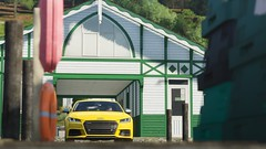 Audi TTS Coupe (PixelGhostClyde) Tags: forza motorsport horizon fh4 turn 10 studios t10 playground games pg microsoft xbox one xb1 xbone x xb1x 4k audi tt tts coupe fsi yellow summer