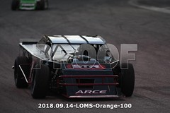 LOMS-Orange-100 (PacificFreelanceMotorsports) Tags: loms speedway racing modifieds lucasoil