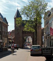 Kamperbinnenpoort in Amersfoort (2) (joeke pieters) Tags: 1410780 panasonicdmcfz150 amersfoort utrecht nederland netherlands holland kamperbinnenpoort poort gate medievalgate