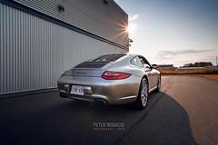 2011 Porsche 911 Carrera | 997.2 | Platinum Silver Metallic (Peter Nowacki) Tags: porsche 997 9972 911 carrera 911carrera porsche911 porschecarrera samyang sportchrono summer samyang20mm 20mmf18 wideangle