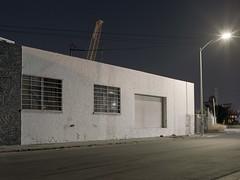 Night crane (ADMurr) Tags: night la eastside industrial hasselblad 500 cm 50mm dad726edit6 6x45 distagon