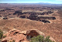 View of Monument Basin from Grand View Point, Canyonlands National Park (PhotosToArtByMike) Tags: monumentbasin canyonlandsnationalpark grandviewpointoverlook utah islandinthesky grandviewpoint ut coloradoriver canyonlands flattoppedmesa mesas buttes overlook southeasternutah limestone erosion scenic canyon landscape desertlandscape
