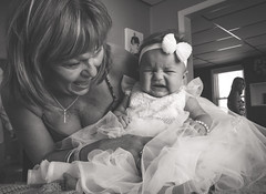 2017.08.13 Christening Day Moments (Katie Wilson Photography Adventures) Tags: katiewilsonphotoadventures photography christening day moments mommys wedding dress turned gown mimis girl babies baby photog sweet beautiful summer amateur play black white cheese little faces smiles crying group young parents big brother cousins blessed nj photo adventures godparents
