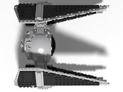 lego tie interceptor moc (KaijuWorld) Tags: lego moc custom star wars tie interceptor fighter rebel builder space ship ldd