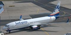 Boeing 737-8HC TC-SEJ (707-348C) Tags: frankfurt airbus320 a320 airliner jetliner sxs passenger eddf tcsej sunexpress fra 2018 germany boeing737 b738 boeing
