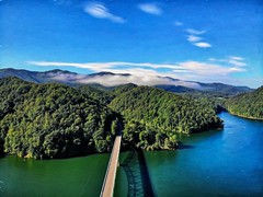 Carter county Tennessee (Steve4343) Tags: steve4343 appalachian trail cherokee national forest red green blue yellow orange white clouds sky beautiful tennessee autumn beauty county lake watauga cloud colorful woods garden gardens happy leaves rocks wildlife landscape mountain tree trees grass water wood butler summer spring macro flower flowers at bridge dji mavic air carter