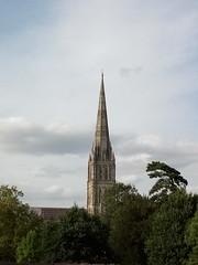 Salisbury Cathedral Spire (fraktalisman) Tags: salisbury cathedral spire england uk building church historic