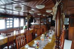 The Rainbow Restaurant (tim ellis) Tags: holiday amazon iracema rionegro diningroom bar manaus brazil