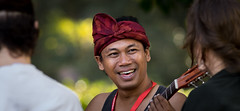Street musician at Sopapei Beach (Sjaco Manuputty) Tags: portrait portraitphotography streetportrait streetmusician sopapei supapey sul ambon maluku moluccas moluccan musician guitar smile face people