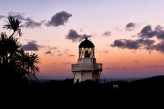 Manukau Heads Lighthouse (James0Harris) Tags: lighthouse evening sunset sky light newzealand nz travel manukauheads