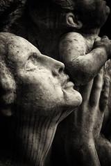 Poetry of love (ingrid.lowis) Tags: friedhofohlsdorf monochrom sepia cemetery friedhof hamburg germany