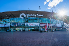 DSC00253 (Damir Govorcin Photography) Tags: qudos bank arena sydney olympic park precinct sunburst cloud natural light sony a9 zeiss 1635mm wide angle