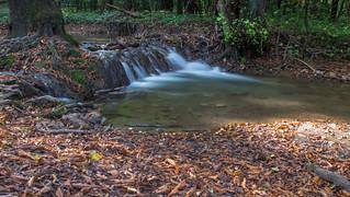 Szilvasvarad, szalajka valley waterfall autumn