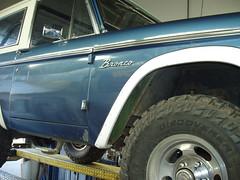 Ford Bronco at All Muffler Service (All Muffler Service) Tags: ford bronco muffler shop exhaust catalytic converters california compliant restoration fabrication rocklin roseville citrus heights lincoln
