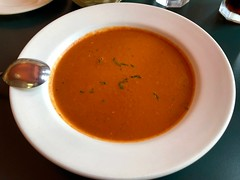 Roasted Garlic Tomato Basil Soup (rabidscottsman) Tags: scotthendersonphotography food foodporn foodphotography foodblog soup tomatobasilsoup roastedgarlic roastedgarlictomatosoup mn minnesota lanesborominnesota saturday weekend dinner bowlofsoup restaurant meal southernminnesota southeasternminnesota travel geotagged