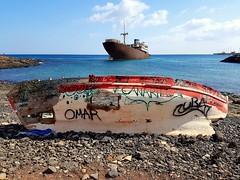 Ship Wreck - Lanzarote - 2018-09-15 (BillyGoat75) Tags: thetelamon shipwreck water boat ship losmarmoles lanzarote thecanaryislands spain