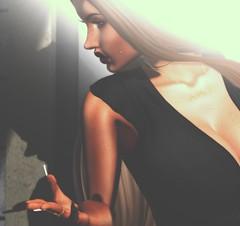 But I don't care what they say I'm in love with You.... (ᵛ Mσяgαη Ɗ'Aмσяє ᵛ) Tags: avatar avtars avi virtual pixels catwa hourglass slink saturday nails lipstick photsl sl secondlife life second world animation backdrop city atnight shadow 2life