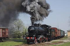 FS Gr 625.177 MI Smistamento 08/04/2006 (stefano.trionfini) Tags: train treni bahn zug steam dampf fs gr625 milanosmistamento italia italy