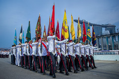 National Day Parade 2018 (BP Chua) Tags: singapore ndp2018 ndp18 flag men man military army march marching nationalday canon 1dx sg53