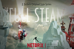 """Full Steam"" Netbrix Teaser 3 (Markus ""madstopper78"" Ronge) Tags: legosteampunk legophotography legopotsdam lego steampunk moc madstopper fullsteamlego airship luftschiff toyphotography"