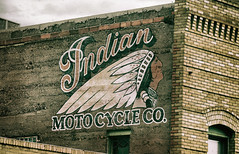 Indian Motocycle (Clay Fraser) Tags: indian motocycle sign lowell arizona fujifilm xpro2 xf55200mm pinconnected