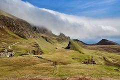 Spectacular Quiraing (Frank-Martens) Tags: highlands quiraing wolken isle skye hiking wandern