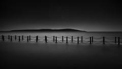 THE RIGHT PATH (robdando) Tags: longexposure wsm path mono bw nikon seascape landscape