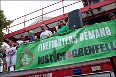 Carnival 2018 - DSCF6547a (normko) Tags: london west notting hill carnival 2018 carribean festival street party fire station ladbroke grove justice grenfell