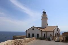 2018.08.11 Urlaub Mallorca (54) Leuchtturm Cala Ratjada (klemenshorst) Tags: mallorca delfin meer urlaub hai palma cala ratjada es caregador capdepera
