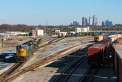 Tilford Shops (Kyle Yunker) Tags: csx emd sd80mac atlanta tilford yard engine shops train railroad