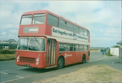 summer of 87 (D Stazicker Photography) Tags: ata161l bristol vr ecw red bus