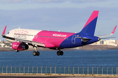 HA-LYT_01 (GH@BHD) Tags: halyt airbus a320 a320200 w6 wzz wizzair ace gcrr arrecifeairport arrecife lanzarote airliner aircraft aviation