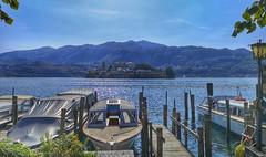 Orta San Giulio (michelecarbone900) Tags: orta isoladisangiulio huaweip20pro lago lake mountains boat