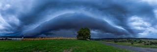 Storm front in Zurich