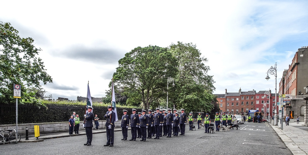 NATIONAL SERVICES DAY [PARADE STARTED OFF FROM NORTH PARNELL SQUARE]-143557