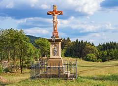 INRI, Orlické Podhůří Rozsocha (Honzinus) Tags: inri orlické podhůří rozsocha jesus king nazarath jews