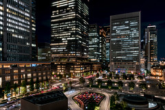 Tokyo (drasphotography) Tags: tokyo japan urban city cityscape nightshot night nacht nachtaufnahme notte lights buildings drasphotography travel travelphotography reise reisefotografie nikon d810 nikkor2470mmf28 lighttrails maronouchi