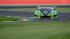Imperiale Racing Lamborghini Huracan GT3: Giovanni Venturini, Jeroen Mul Race 1, International GT Open, Silverstone Circuit, Silverstone, Northamptonshire, England (www.fozzyimages.co.uk) Tags: