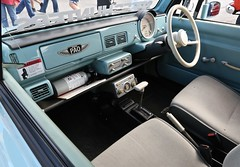 Interior 1989 Nissan PAO PK10 (Bill Jacomet) Tags: coffee cars and houston tx texas 2018 memorial city mall show auto