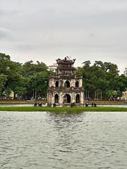 "Tháp Rùa ""Turtle Tower"" in Hanoi (marcocarag) Tags: hanoi vietnam vnm"